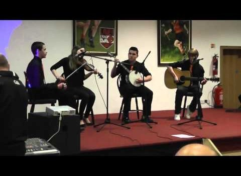 Scór na nÓg performances at presentation event